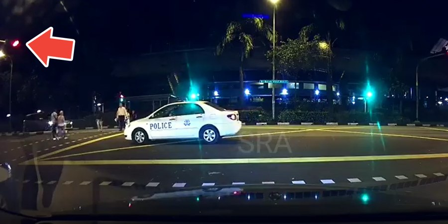 Police Officer Fined $200, Gets 12 Demerit Points For Beating Red Light