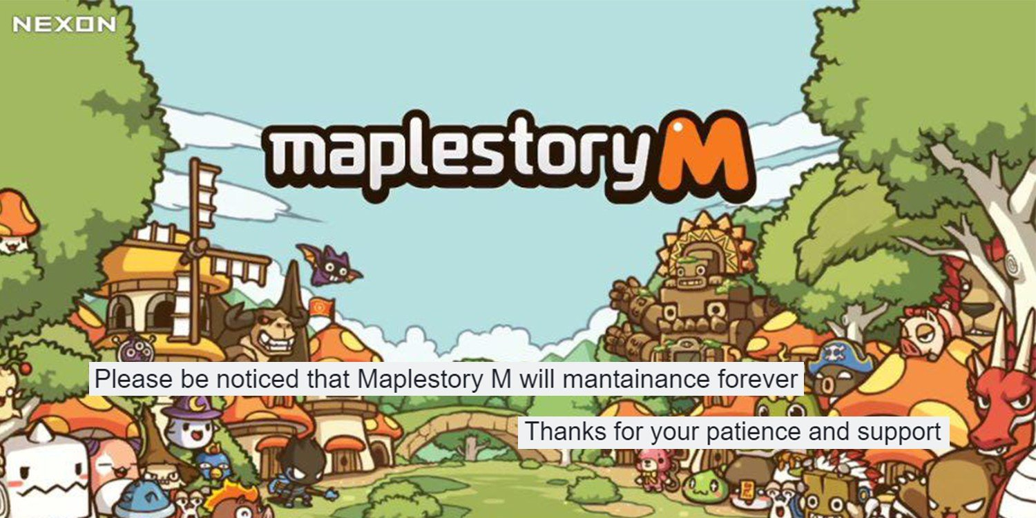 Maplestory crashes after pic
