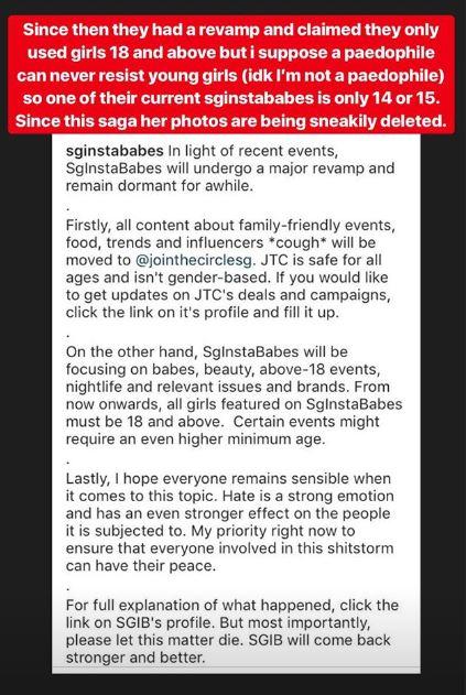 Screenshot from @xiaxue on Instagram