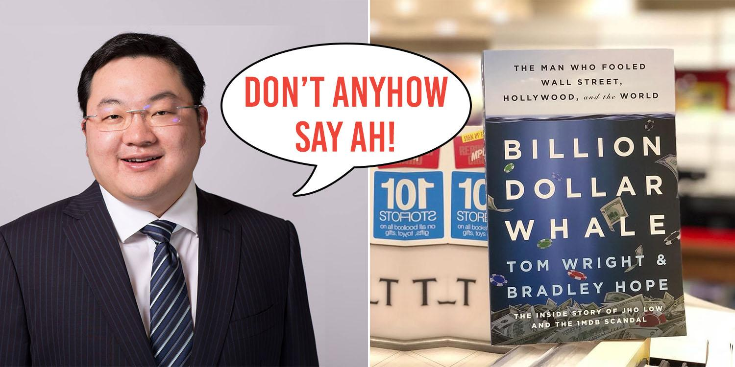 Jho Low May Sue Over New Book About Him