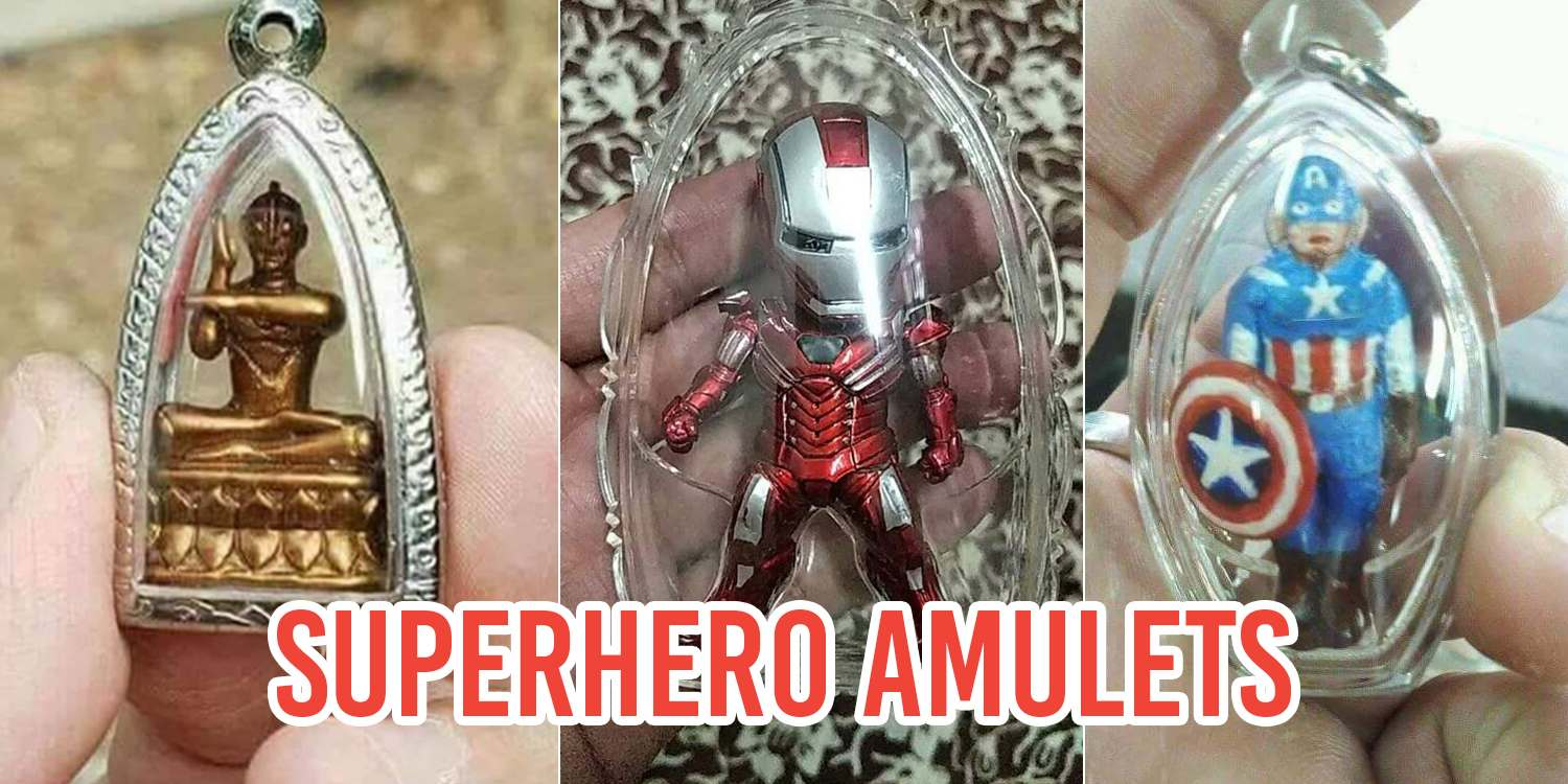 8 Cartoon Amulets To Protect The Extra Kiasu In Real Life