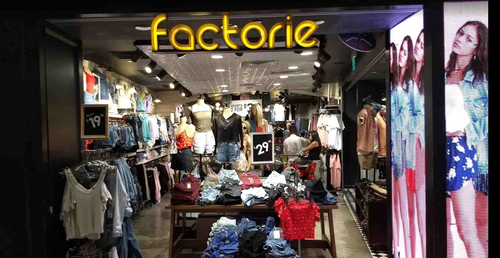 ff726f5762a Major fashion outlets youll never see again in singapore jpg 1609x833  Factorie clothing 2018