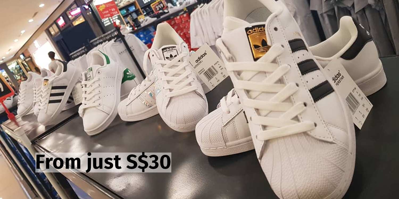 Nike & Adidas Goods On Sale From S$30 At KSL City Till 18 Nov