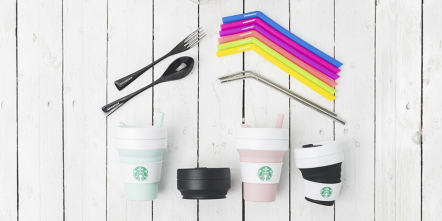 3d6b14cf1d6 Starbucks Collapsible Cups & Reusable Straws Make Us Willing Eco ...