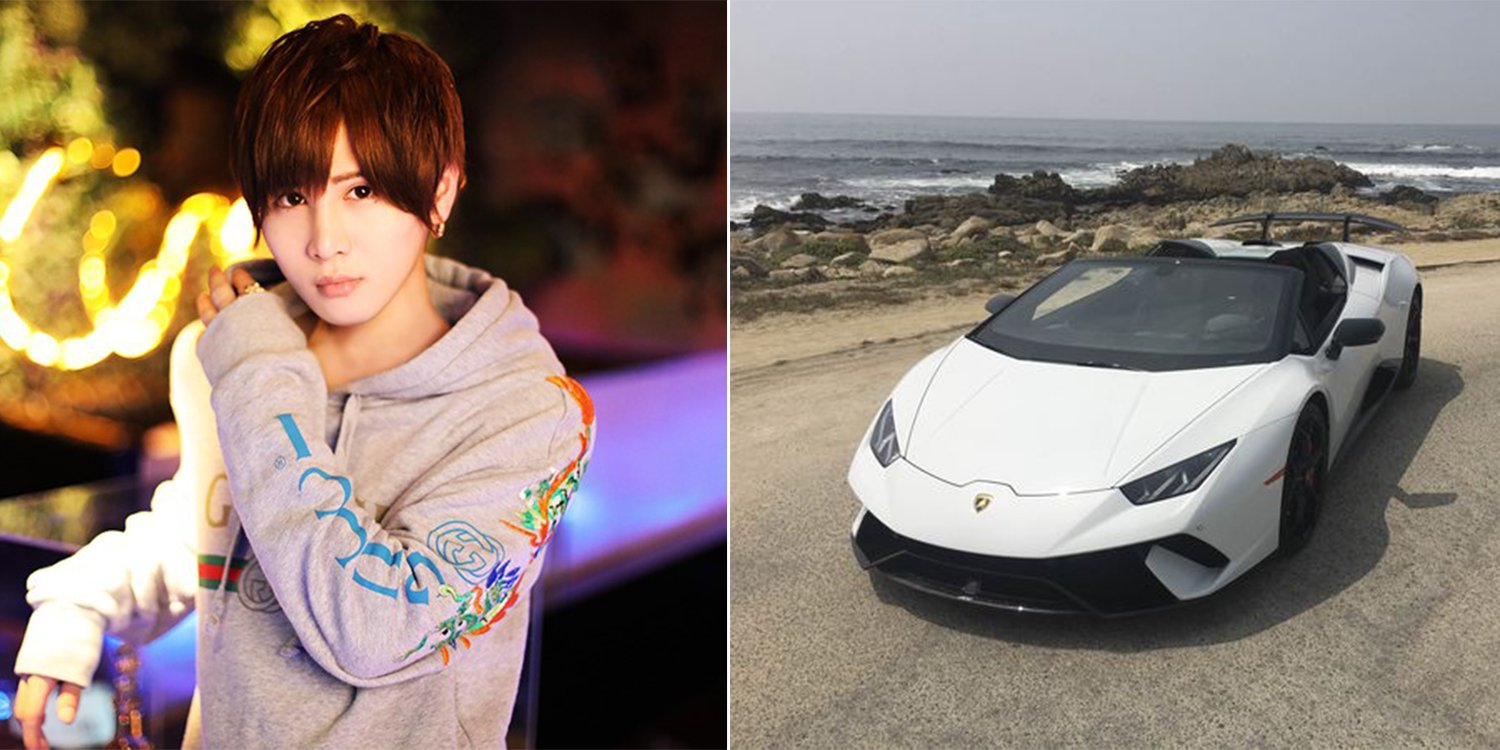 Japan S No 1 Gigolo Earns S 256 000 Month Was Gifted A Lamborghini