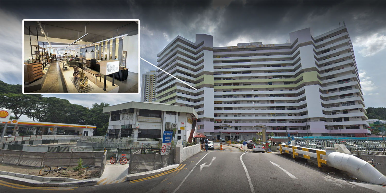 This Building In Outram Is A Secret 14-Storey IKEA For
