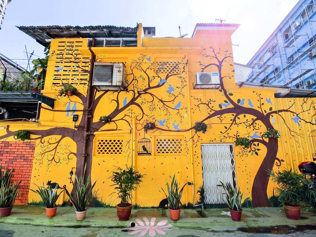 Bukit Bintang's Back Alley Murals In KL Make It Haji Lane On Steroids