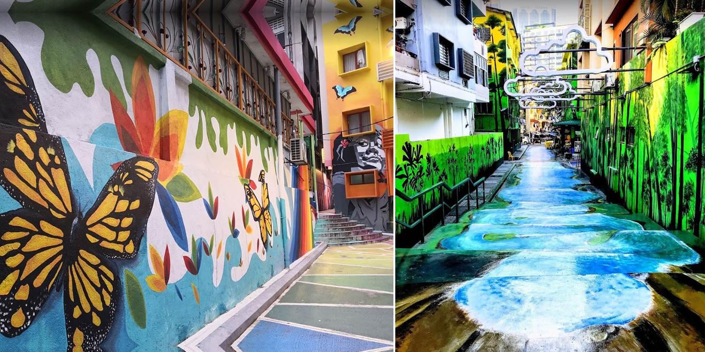 Bukit Bintang S Back Alley Murals In Kl Make It Haji Lane On Steroids