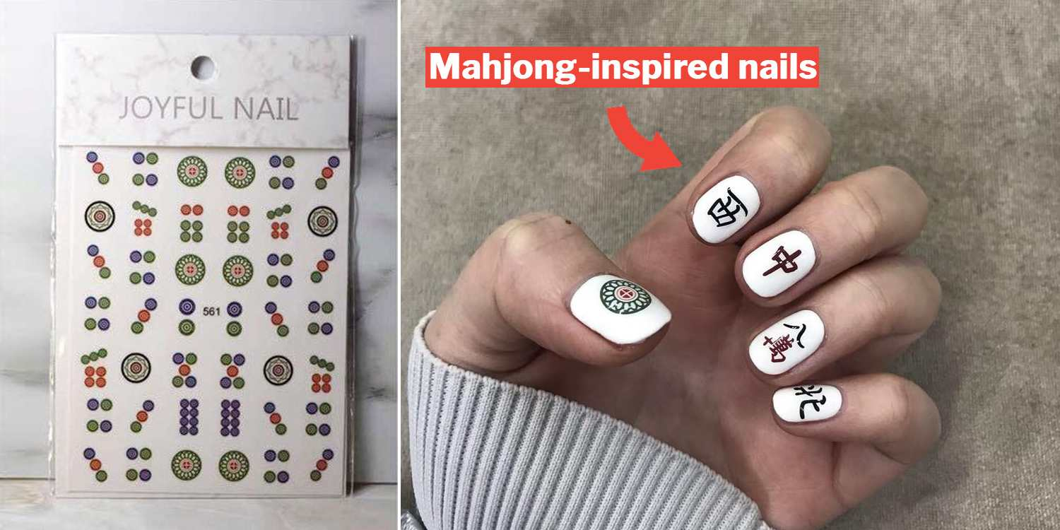 Mahjong Nail Stickers Are The Best CNY Gifts For Your Gambling Kakis