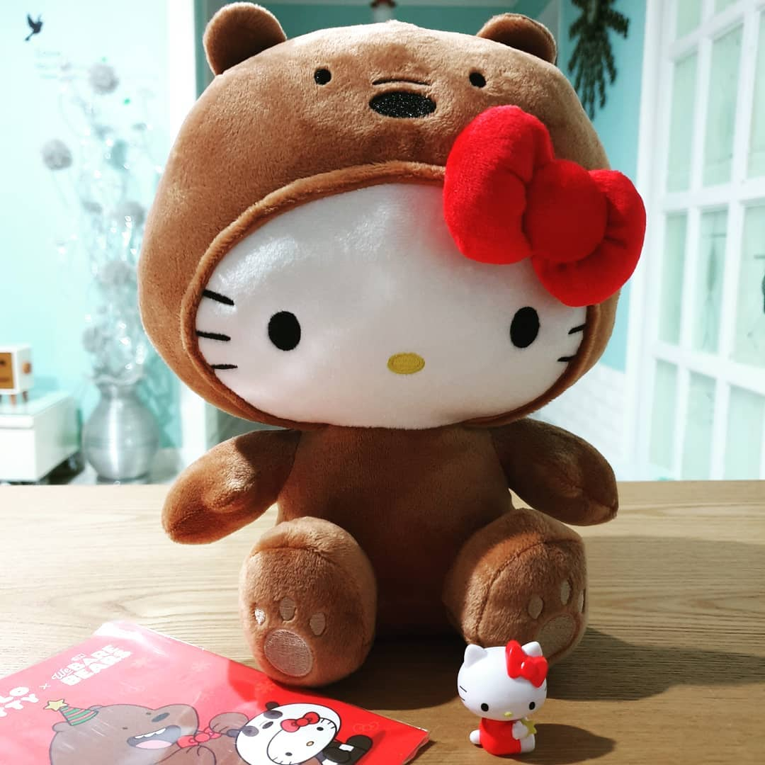 38c8bc6c1 We Bare Bears Hello Kitty Plushies Are The Most Ambitious Crossover ...