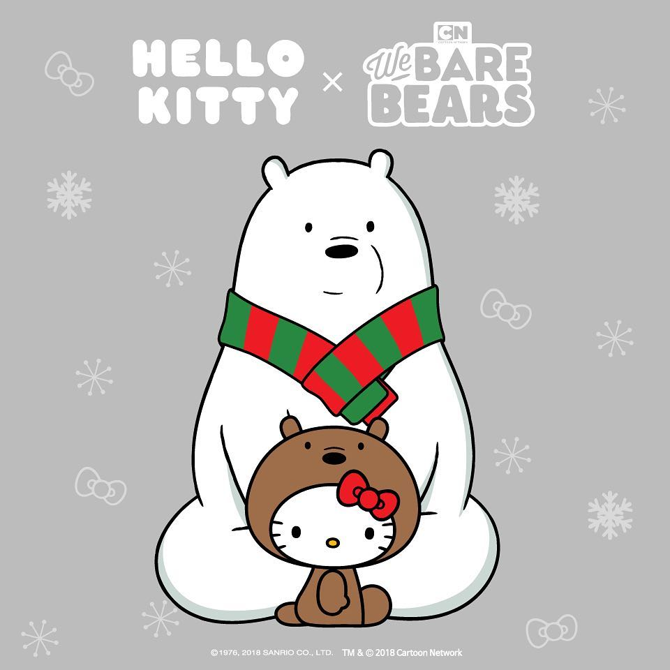 we bare bears hello kitty