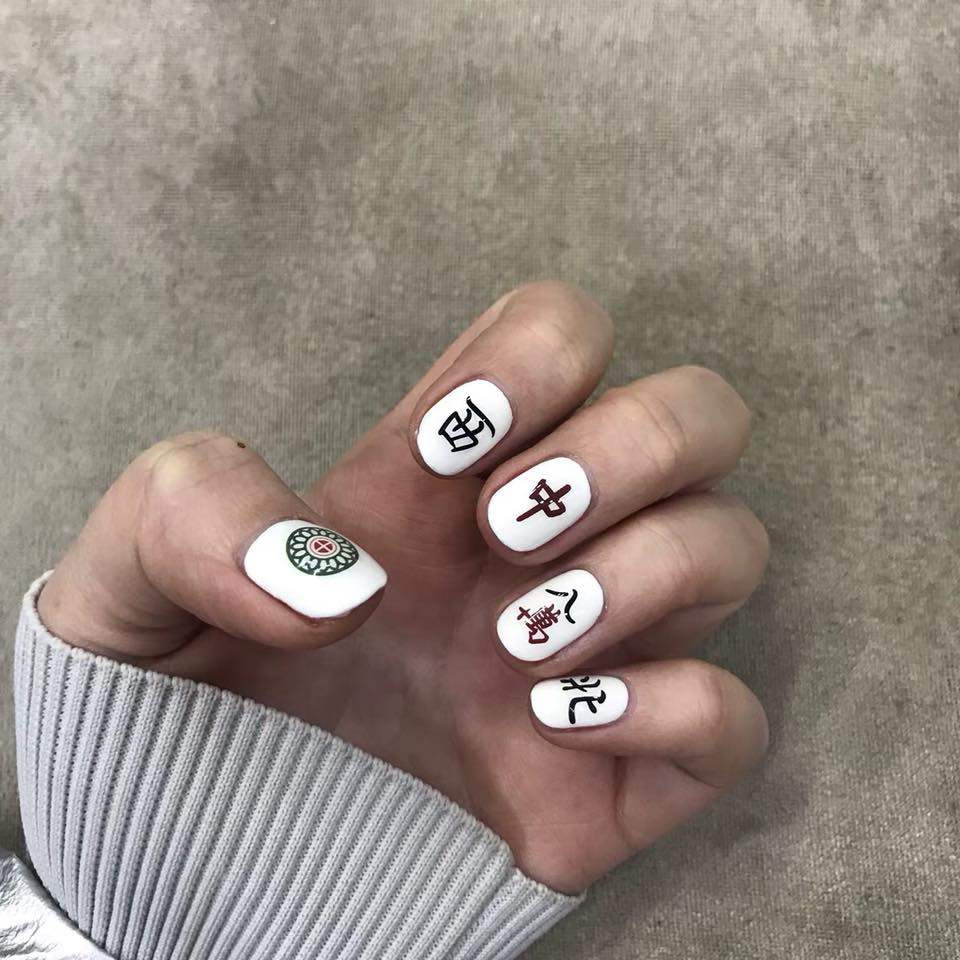 Mahjong Nail Stickers Are The Best Cny Gifts For Your