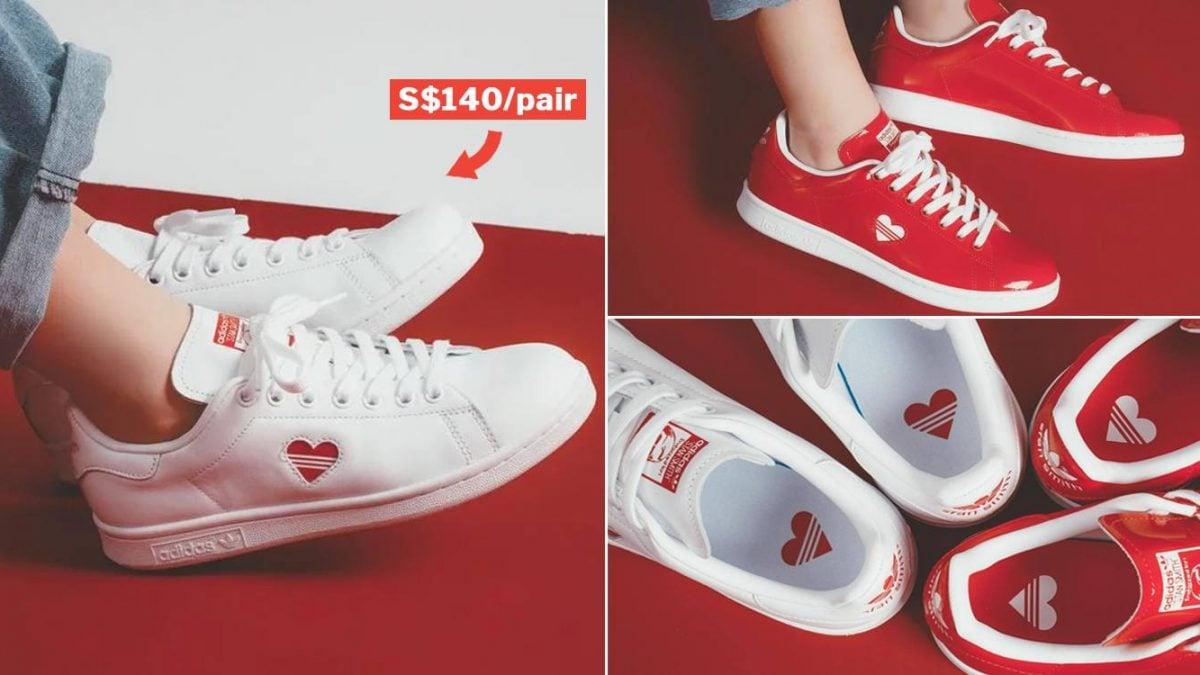 adidas stan smith couple shoes