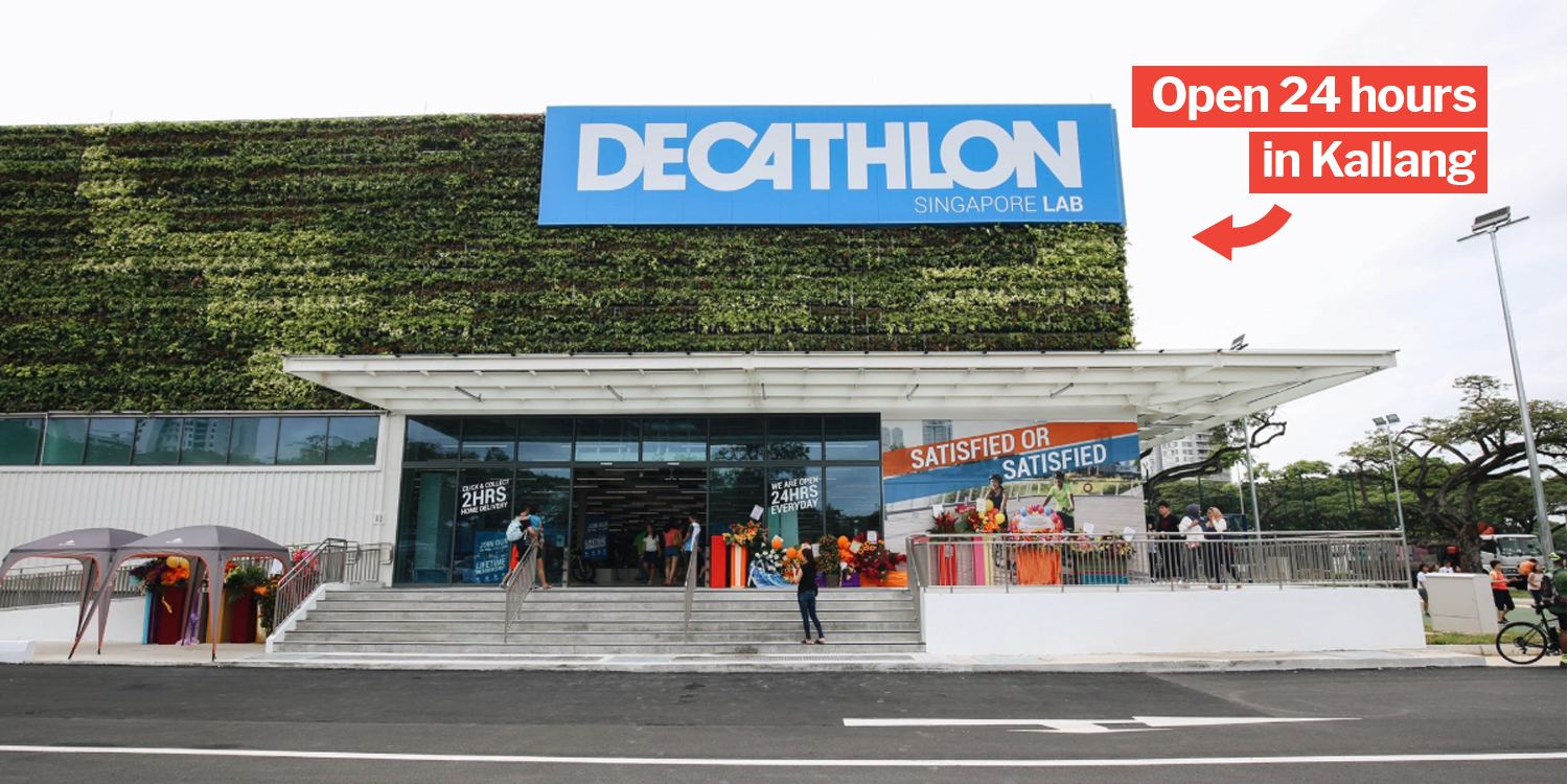 decathlon kallang is an ikea style warehouse with cheap. Black Bedroom Furniture Sets. Home Design Ideas