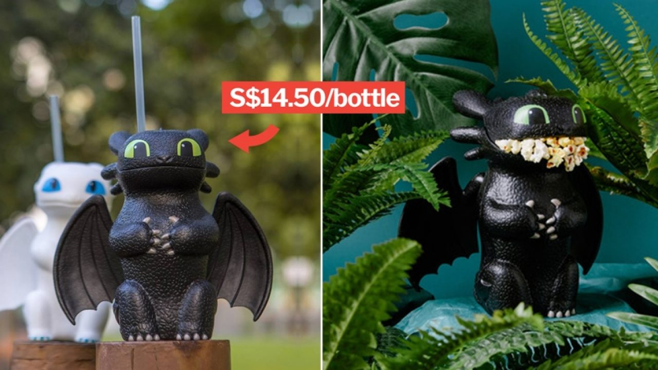 Golden Village To Sell How To Train Your Dragon Bottles On 24 Jan In SG