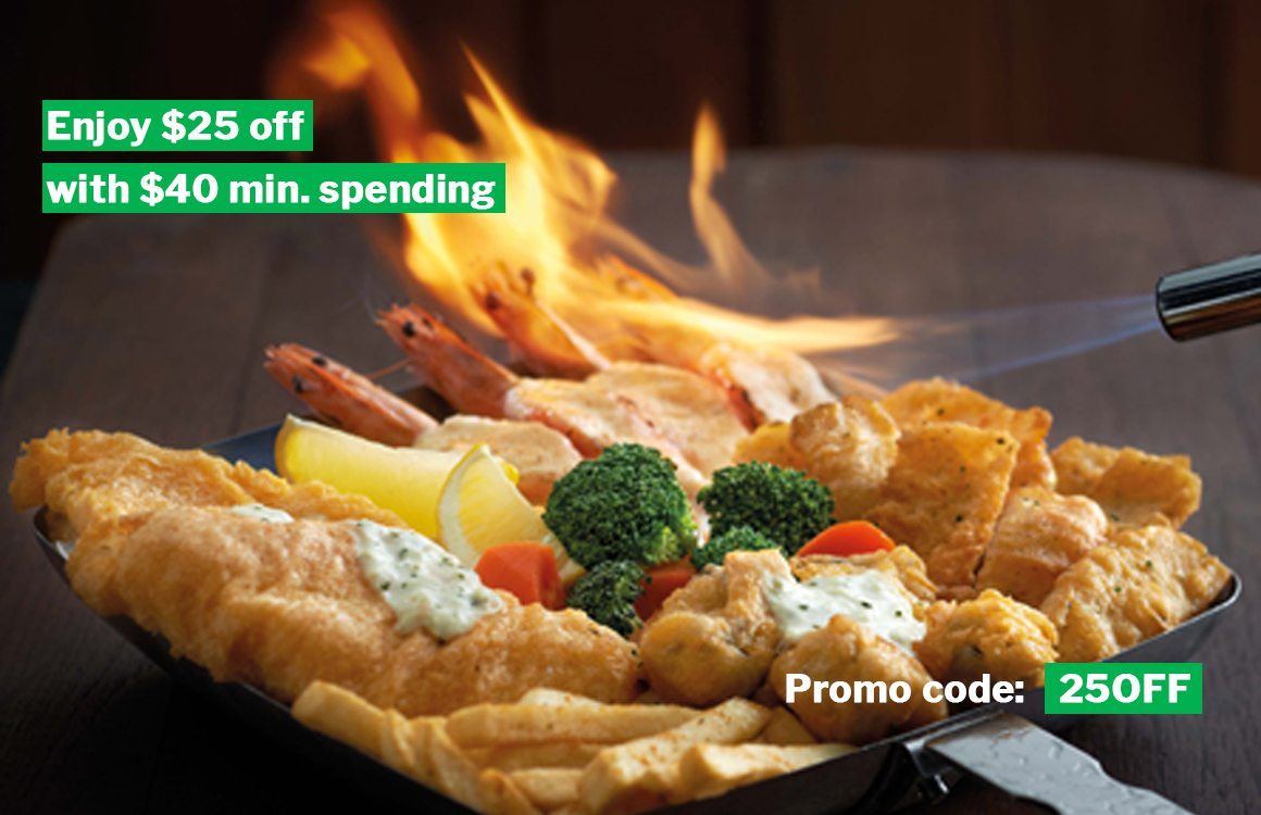 $25 Off For $40 GrabFood Orders Till 20 Jan With 25OFF Promo