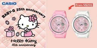 c8386e22ae08 Pastel Hello Kitty Baby-G Watches Will Launch In S pore On 23 Mar For S 229