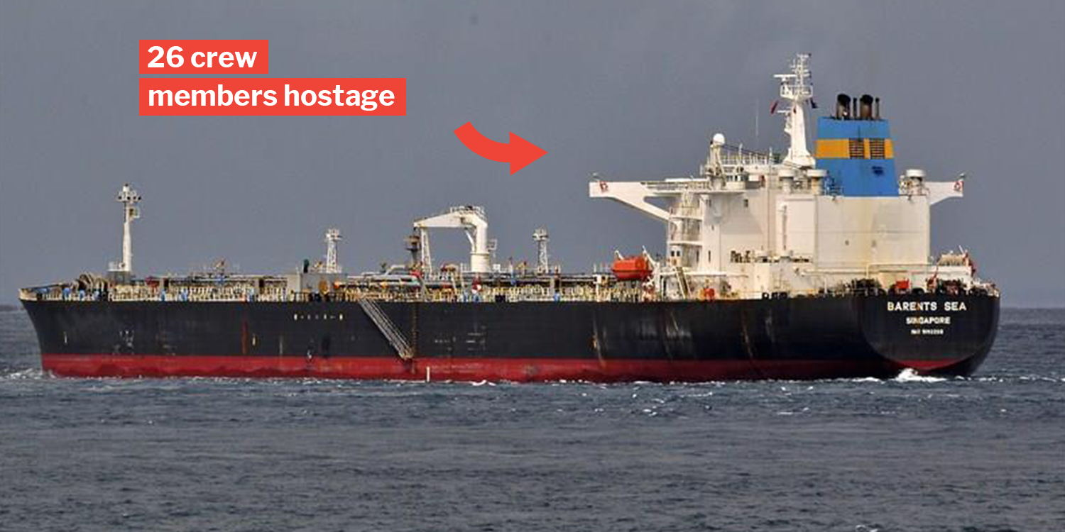 Singapore-Flagged Ship Hijacked In Cameroon, Central Africa On 3 Feb
