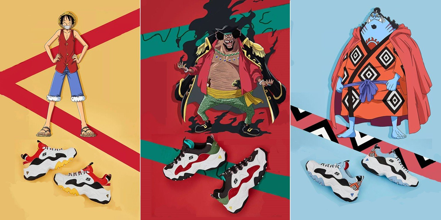 040df03679e7 Skechers One Piece Sneakers To Hit Singapore Stores From March For A  Limited Time