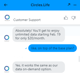 circles life new plan