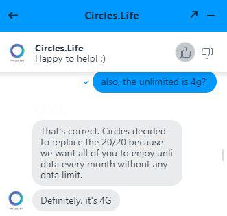 circles life 4g unlimited data