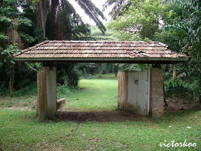 Jalan Merumpung haunted gate
