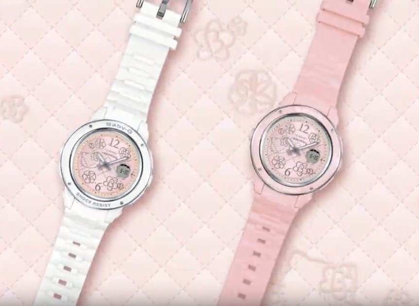 5c1445992e86 Pastel Hello Kitty Baby-G Watches Will Launch In S pore On 23 Mar ...
