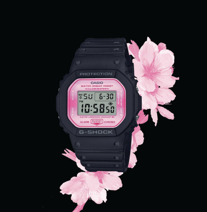 67b6ea6b99b Casio s Sakura G-Shock Watches Now Sold At VivoCity From  159