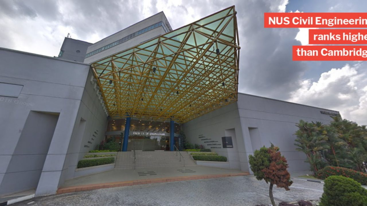 NUS & NTU Engineering Courses Rank Among Ivy League Schools