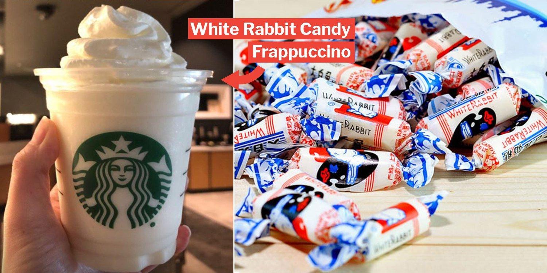 Starbucks White Rabbit Frappuccino Trends In Canada