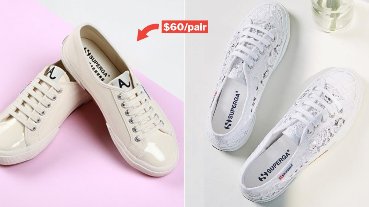 Superga Online Sale From 14-17 Mar Has
