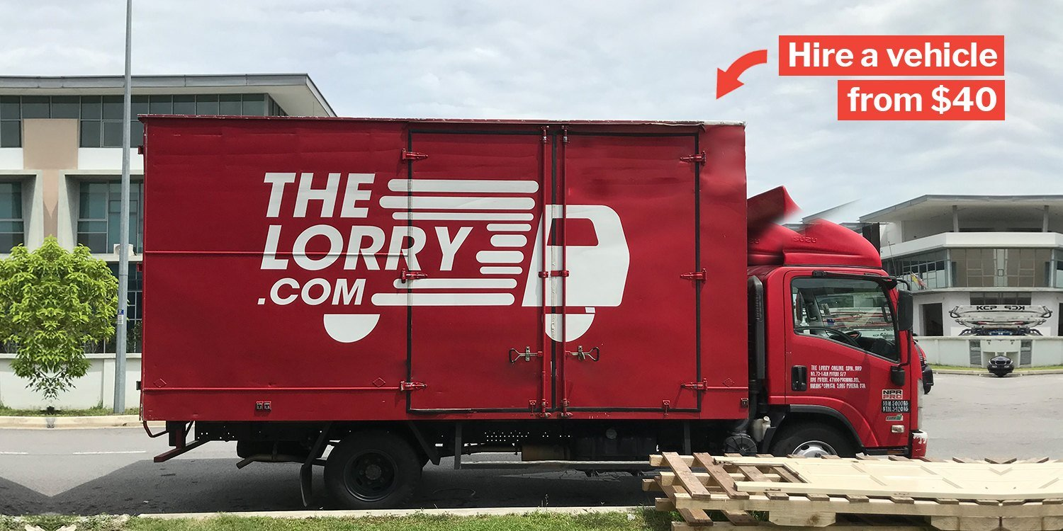 e86179729355 TheLorry App Lets You Book Vans   Lorries To Move Your Kampung Instantly  From  40