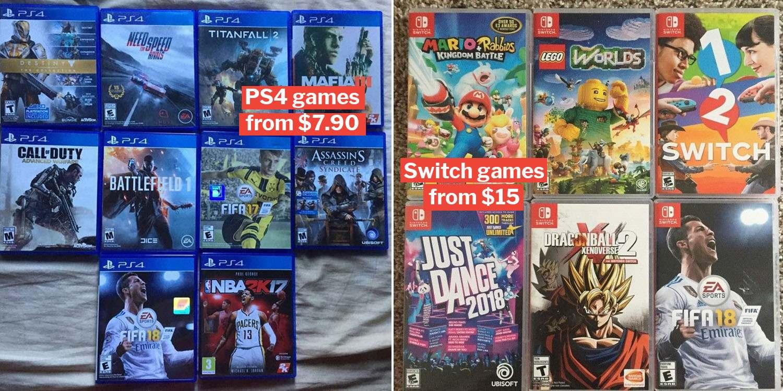 Warehouse games