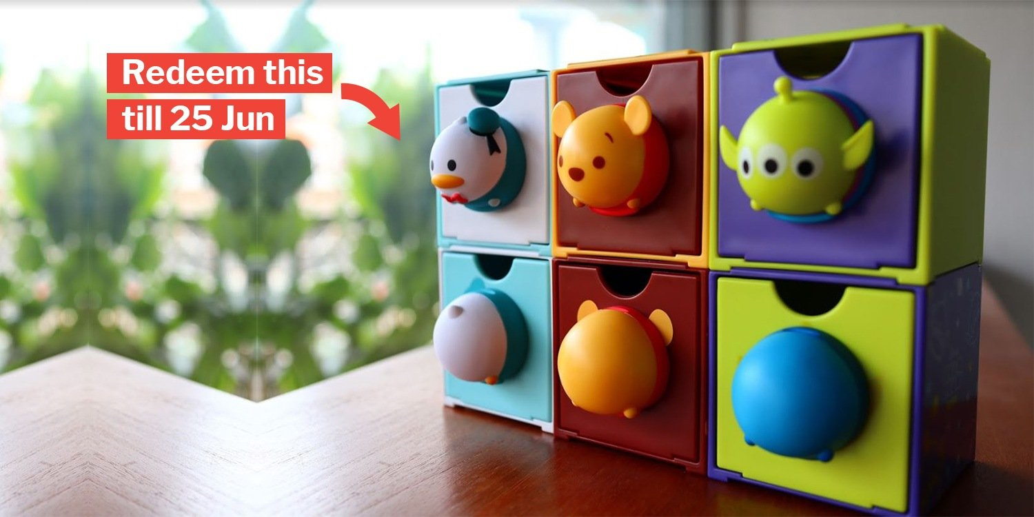 7509f930056 Disney Tsum Tsum Drawers Now At 7-Eleven Lets You Add Tsum Cuteness To Your  Life