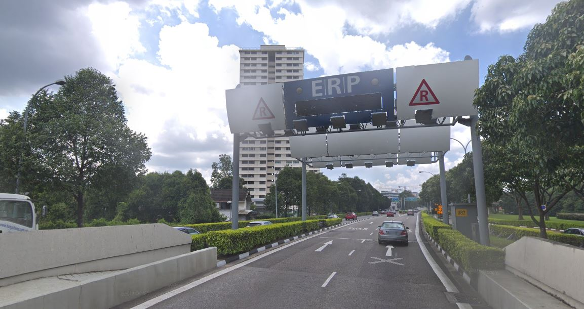 ERP Rates Will Increase By $1 For 2 Gantries At CTE & KPE ...