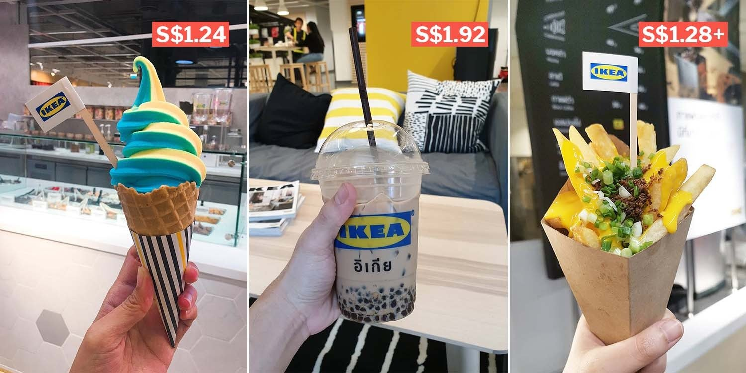 IKEA Bangna In Bangkok Sells Butterscotch Soft Serve, BBT