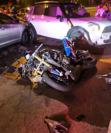 Motorcyclist Killed Near CTE Braddell Road Exit