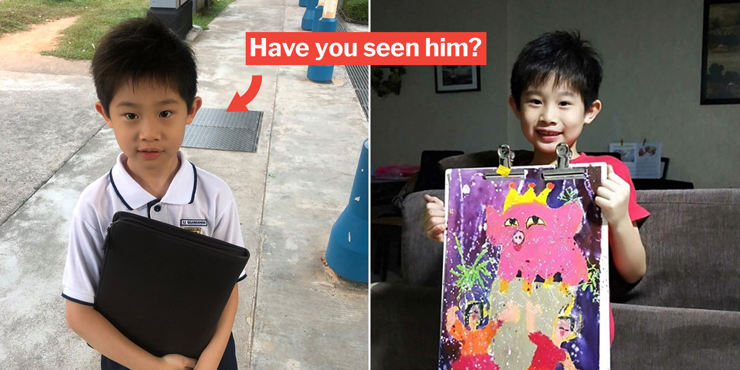 7-Year-Old Boy Allegedly Missing In S'pore For 38 Days