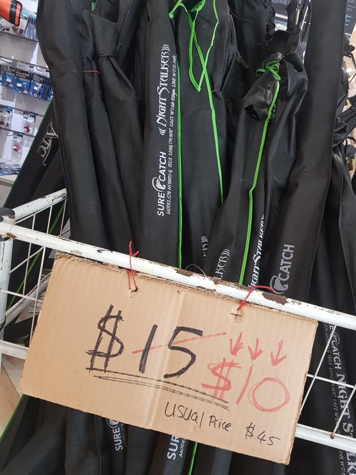 Catchbay Clearance Sale In Ubi Has Fishing Rods, Reels