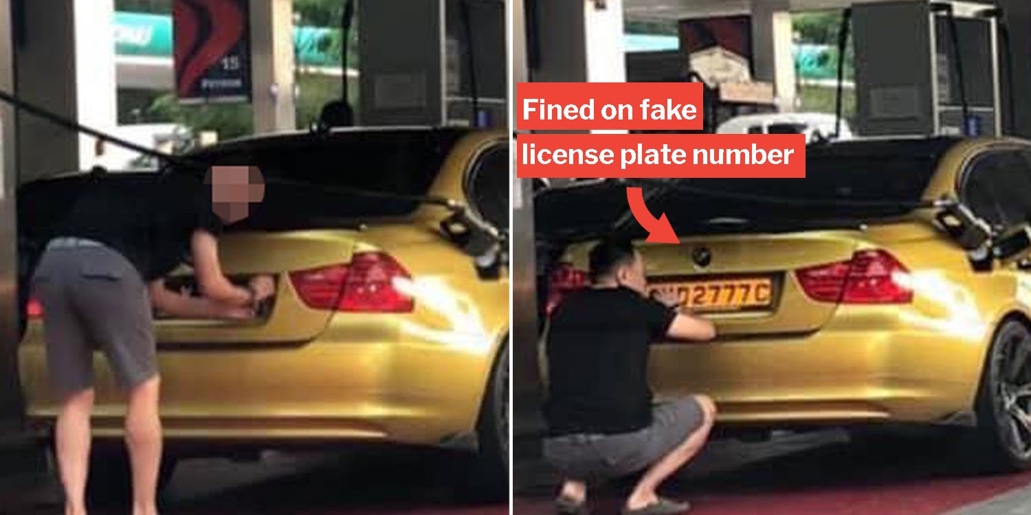 S'porean Allegedly Swapped Car Plates To Evade M'sia Fines