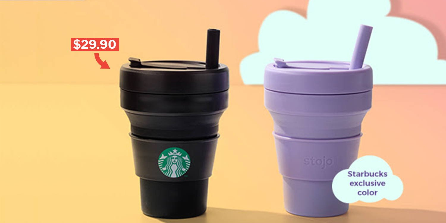 27f00ac9c34 Starbucks x Stojo Collapsible Cups Return To S'pore On 13 May With 2 ...