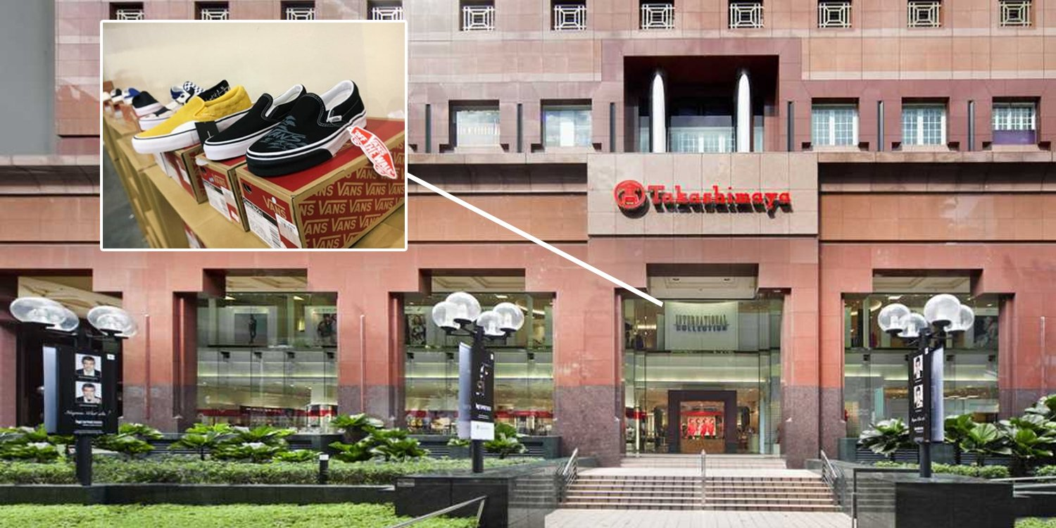 8c1444772 Takashimaya Sale Has Up To 70% Off Vans & Timberland Shoes Till 11 Jun