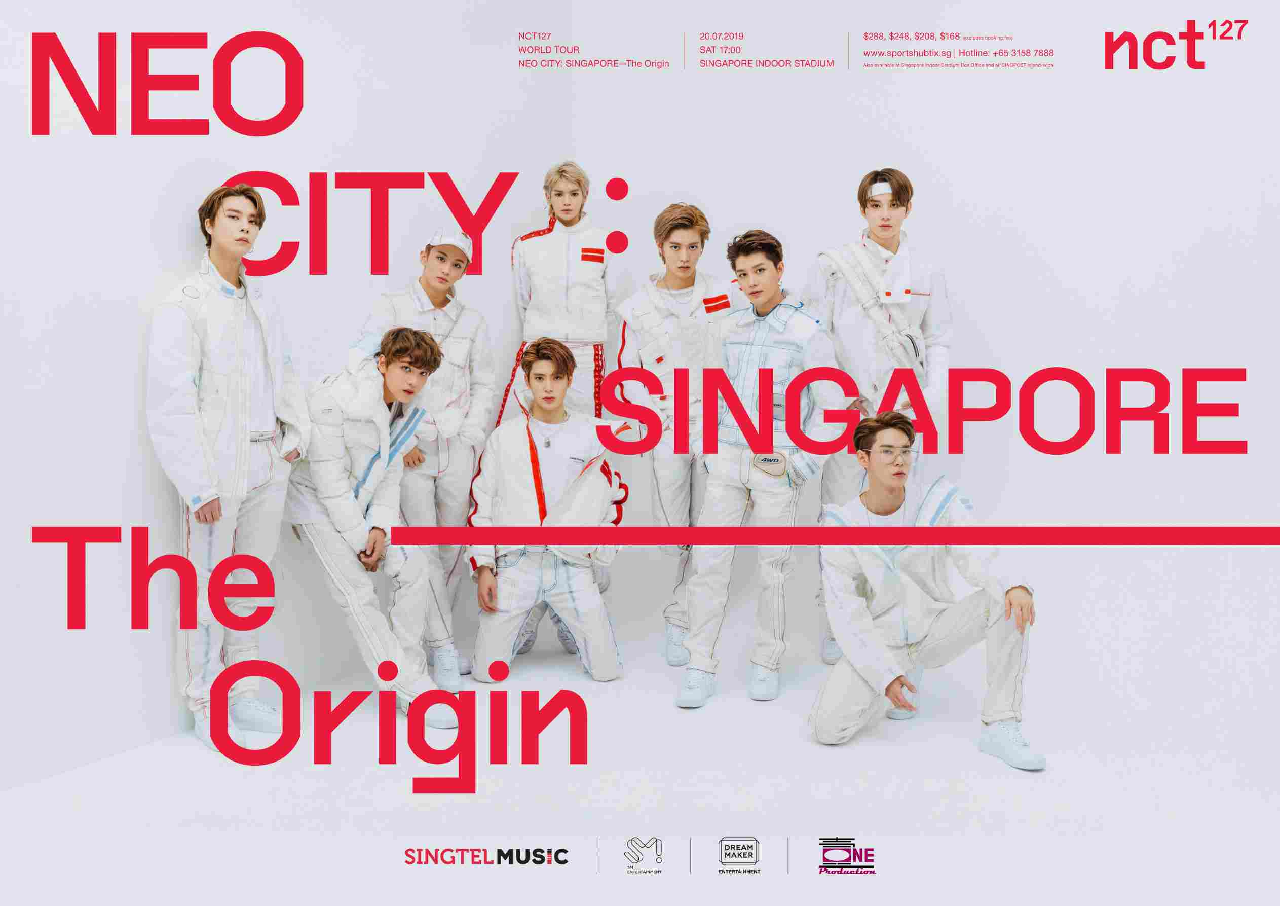 Korean Boyband NCT 127 To Perform At Singapore Indoor