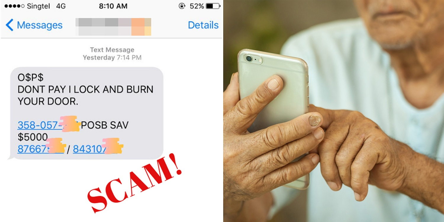 New Phone Scam Threatens Victims With Arson, S'poreans