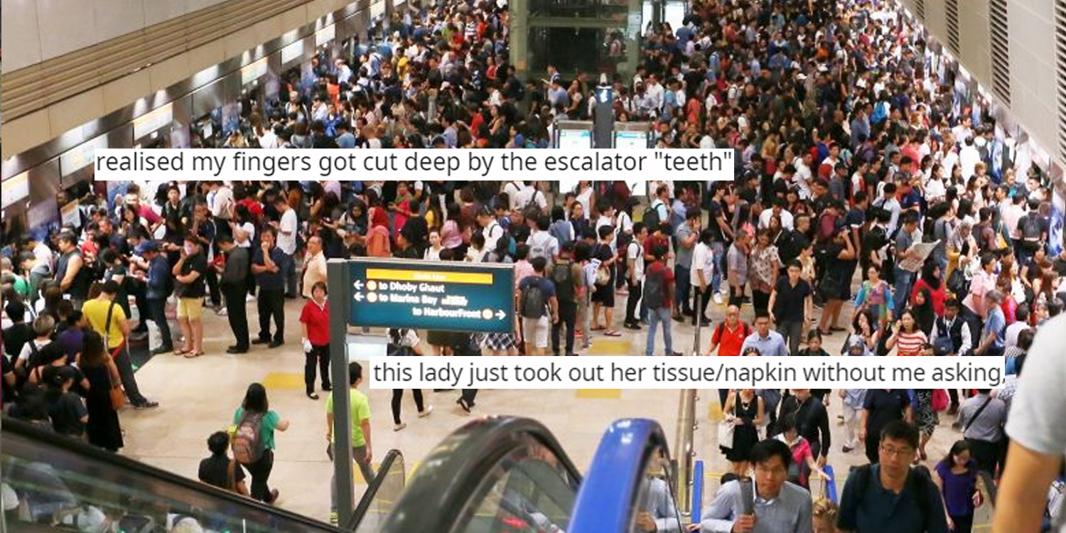 MRT Commuter Gets Rescued Twice In A Day By Strangers