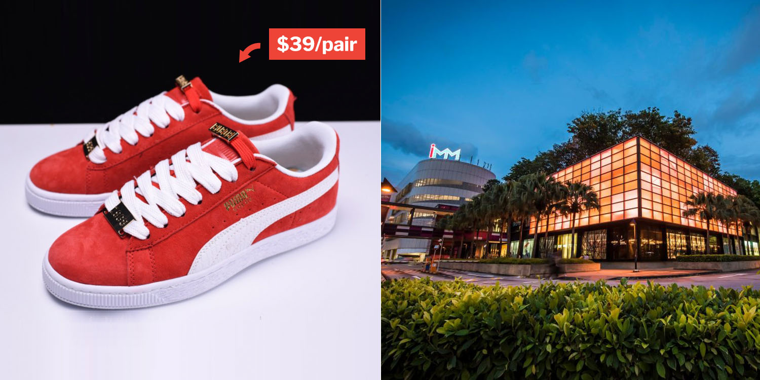 9dc92c8f39 Puma Super Sale At IMM Atrium Offers Up To 70% Off Shoes & Apparel ...