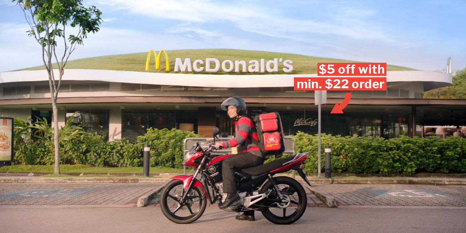 DBS/POSB Cardmembers Get Up To $5 Off McDelivery & A Chance