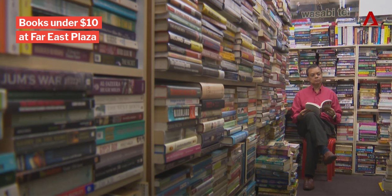 Ana Book Store Sells Secondhand Books Below $10