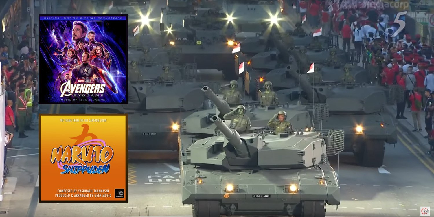 NDP 2019 Plays Avengers & Naruto Soundtracks Which Highlight