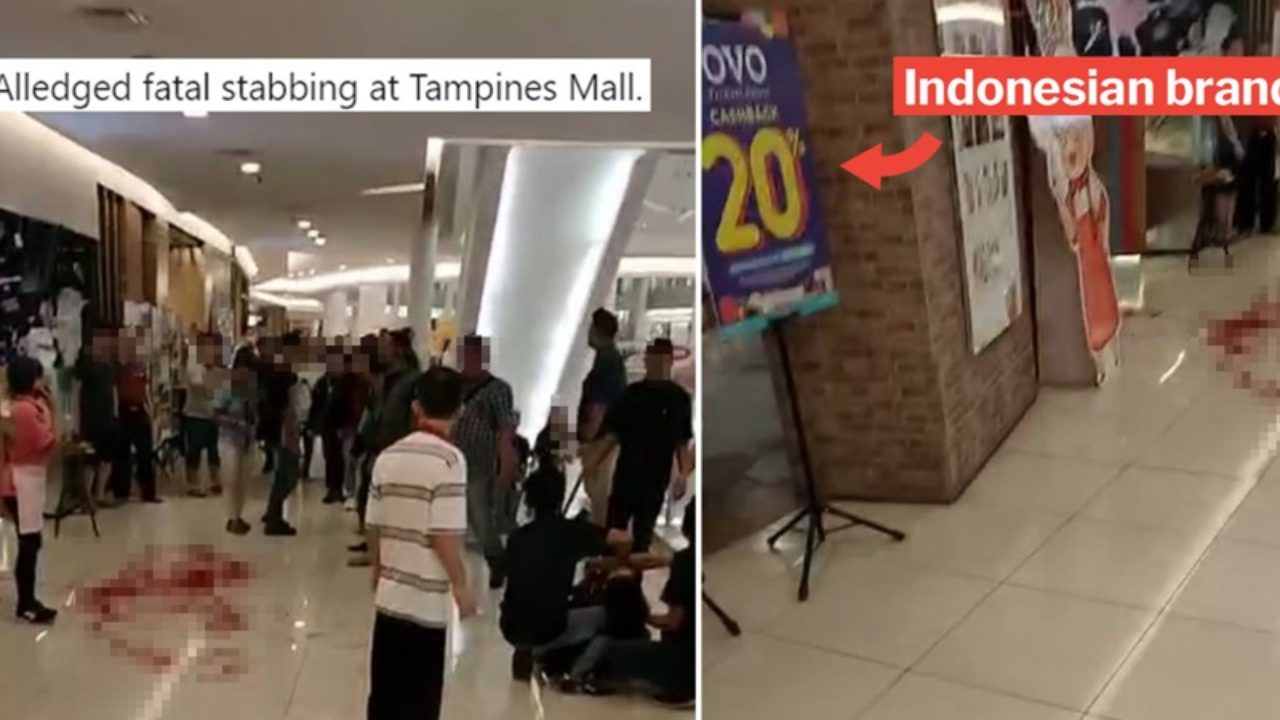 Tampines Mall Stabbing' WhatsApp Video Goes Viral, But